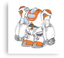 Anime Robot Canvas Print