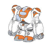 Anime Robot Photographic Print