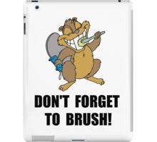 Beaver Brush iPad Case/Skin