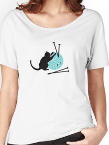 Playfull Cat VRS2 Women's Relaxed Fit T-Shirt