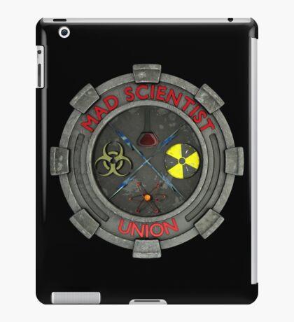 Mad Scientist Union Logo 3D iPad Case/Skin
