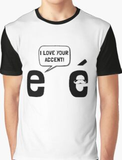 Love Accent Graphic T-Shirt