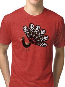 Dark Peacock Tri-blend T-Shirt
