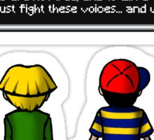 Fight the Voices! Sticker