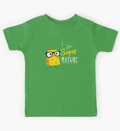 Super Mature Kids Tee