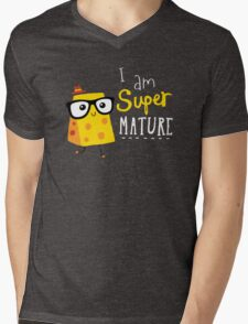 Super Mature Mens V-Neck T-Shirt