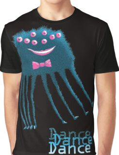Techno Dance Disco Spider Graphic T-Shirt