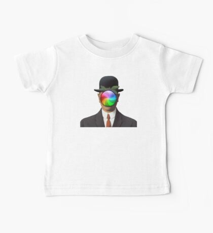 the son of a man magritte surrealism 1900, Apple Baby Tee