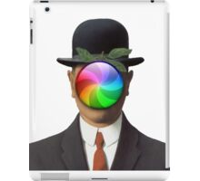 the son of a man magritte surrealism 1900, Apple iPad Case/Skin