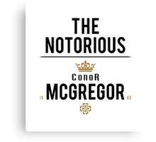 Notorious McGregor | v2 Canvas Print
