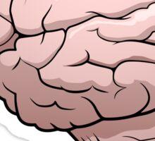 Human Brain Drawing Sticker