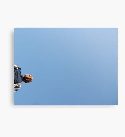 Chris in the Sky Canvas Print