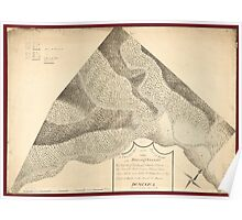 American Revolutionary War Era Maps 1750-1786 203 A plan of that part of the Rosalij Estate called Rosalij Valley the property of His Excellcy Charles O'Harra Poster