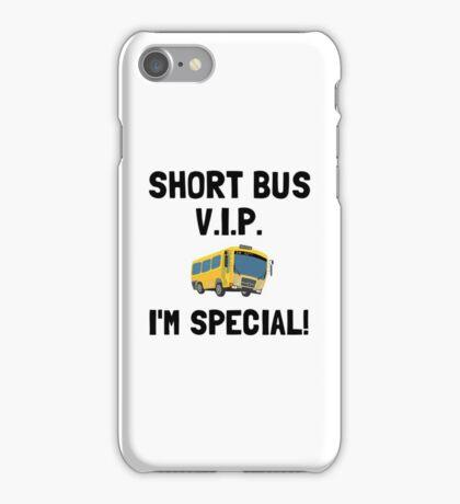 Short Bus VIP iPhone Case/Skin