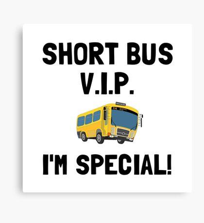 Short Bus VIP Canvas Print