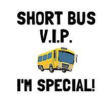 Short Bus VIP Photographic Print