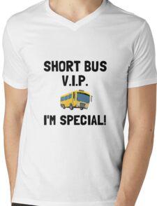 Short Bus VIP Mens V-Neck T-Shirt