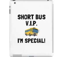 Short Bus VIP iPad Case/Skin