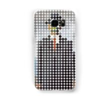 the son of a man magritte surrealism 1900, Benday Dots Samsung Galaxy Case/Skin