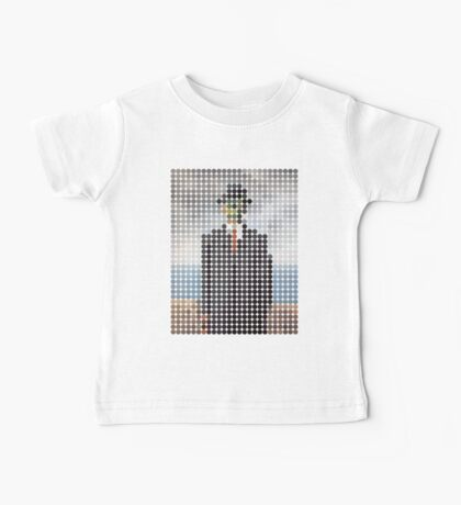 the son of a man magritte surrealism 1900, Benday Dots Baby Tee