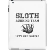 Sloth Running Team iPad Case/Skin