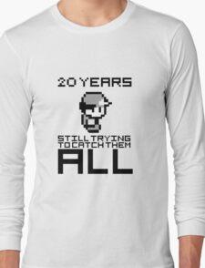 Pokemon 20 Years Anniversary Long Sleeve T-Shirt