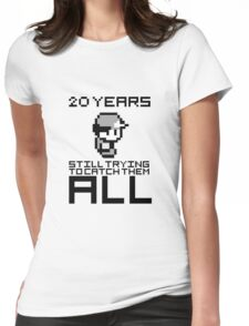 Pokemon 20 Years Anniversary Womens Fitted T-Shirt