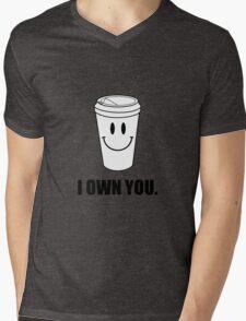 Coffee I Own You Mens V-Neck T-Shirt