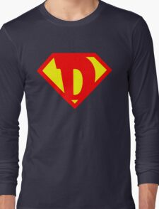 D Super Long Sleeve T-Shirt
