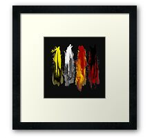 Westeros: Paint Framed Print