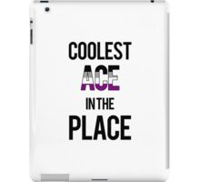 Coolest Ace in the Place iPad Case/Skin