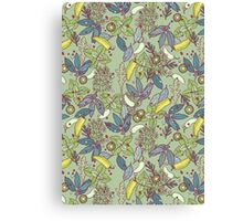 go green in spring! Canvas Print