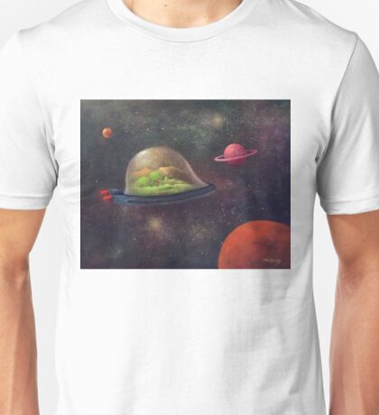 They Took Their World With Them Unisex T-Shirt