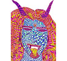 psychedelic demon Photographic Print