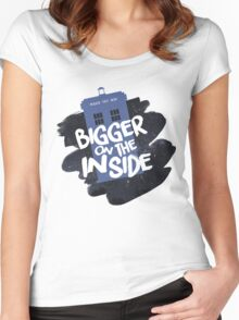 Doctor Who TARDIS Women's Fitted Scoop T-Shirt