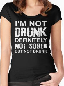 Funny Drinker Women's Fitted Scoop T-Shirt