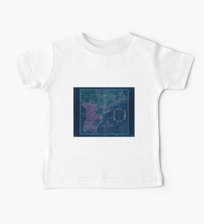 American Revolutionary War Era Maps 1750-1786 351 Bowles's new pocket map of the United States of America the British possessions of Canada Nova Scotia and Inverted Baby Tee