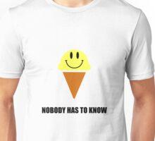Ice Cream Nobody Has To Know Unisex T-Shirt