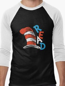 READ ACROSS AMERICA DAY  Men's Baseball ¾ T-Shirt