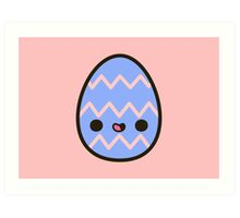 Happy Easter egg Art Print
