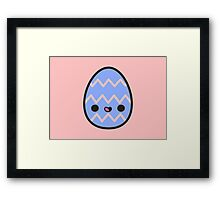 Happy Easter egg Framed Print