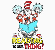 READ ACROSS AMERICA DAY - Dr Seuss Womens Fitted T-Shirt