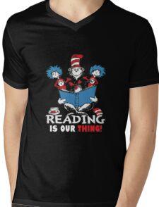 Read Across America Day - 2016 Mens V-Neck T-Shirt