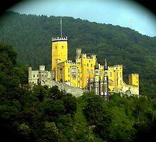 Castle Schloss Stolzenfels by Nancy Richard