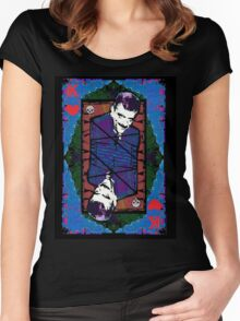 Gomez.The King Of Hearts. Women's Fitted Scoop T-Shirt