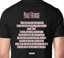 Pale Horse, When the Lamb broke the Fourth Seal, Four Horsemen of the Apocalypse Unisex T-Shirt