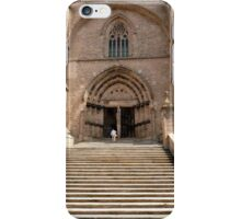 Stairs to the church - Chaise-Dieu (France) iPhone Case/Skin