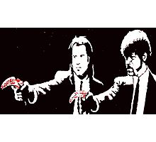 Pulp Fiction Bananas Photographic Print