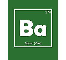 Bacon Yum Photographic Print
