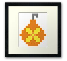 Heal Bombs Framed Print